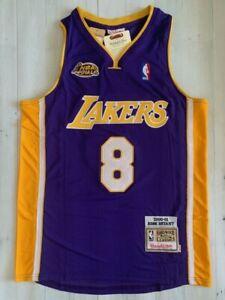 Kobe Bryant Lakers Jersey Authentic Purple Championship Finals Champion 2000-01