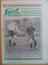 SPORT MAGAZIN KICKER 7A - 18.2. 1957 * Fürth-1.FCN 2:2 Kickers-VfB Stuttgart 1:5