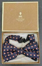 Vintage Authentic Gucci Silk Bow Tie