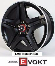 """Mercedes G63 G65 AMG 20"""" Alloy Rims Black Matte 5 Spoke For G-Class W463 Genuine"""