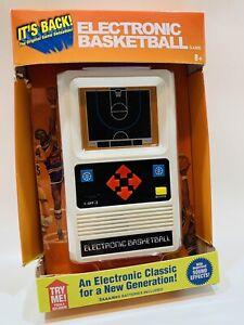 New Retro ELECTRONIC BASKETBALL Game Handheld Classic 1970's Mattel