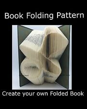 Baby Dummy Pacifier,  Book Folding PATTERN to create your own folded book art
