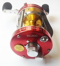 Mingyang Red MC600 Baitcasting Reel Right handed Offshore Fishing 6 BB 5.3:1