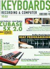 Keyboards 2003/10 (Cubase SX 2.0)