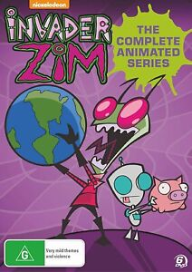 INVADER ZIM The Complete Animated Series DVD Season 1 & 2 (Region 4)