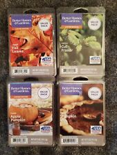 Bhg Better Homes 5oz Wax Melts Bars Limited Edition (Lot Of 4)