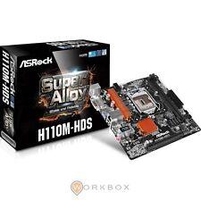 ASRock H110M-HDS Intel lga1151 mATX SCHEDA MADRE USB 3.0, SATA 3, HDMI e DVI