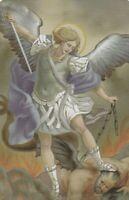 "*Holy/Prayer Card-""Saint Michael The Archangel"" *Prayer on Back/ (#50)"