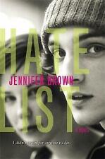 Hate List Brown, Jennifer Paperback