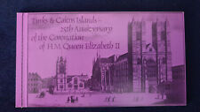 TURKS & CAICOS 1978 QEII 25th Anniversary of CORONATION - STAMP BOOKLET #3064