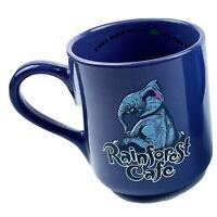 HTF Rainforest Cafe Tuki Makeeta Elephant Purple Lg Coffee Mug Cup 2000 Collect