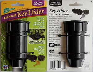 Sprinkler Head Key Hider Cache Geocache Hiding Spot 91901