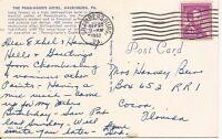 The Pen-Harris Hotel, Harrisburg, PA. Vintage Postcard.