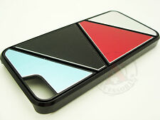 iPhone 5 5S SE METAL Aluminum MIX HARD Case Phone Cover Blue Black Red Silver