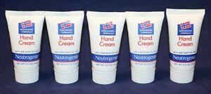 Neutrogena Norwegian Formula Hand Cream 5 Pieces, 0.5 Oz Each, 2.5 Oz Total, New