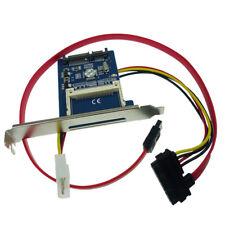 CF Compact Flash Type I/II To 2.5 Inch SATA  Adapter with Bracket