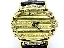 Piaget Polo Vintage Ladies Watch 18k Oro Amarillo y Diamantes Pavee. papeles De Servicio
