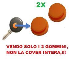2X GOMMINO TELECOMANDO COVER CHIAVE SMART FORTWO 450 1TASTO GIALLO