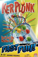 Ker Plunk Game Don't Let The Marbles Fall Mattel Fast Fun Game kerplunk Travel w