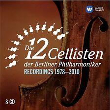 DIE 12 CELLISTEN DER BERLINER PHILHARMONIKER - DIE 12 CELLISTEN... 8 CD NEU
