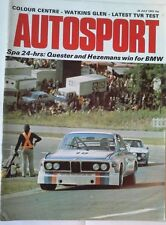 Autosport July 26th 1973 *Spa 24 Hours & TVR 3000M Road Test & Can Am*