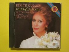 KIRI TE KANAWA - Verdi & Puccini: Pritchard / London Philharmonic Orchestra CD