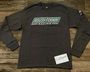 Roush Fenway Racing FORD Performance Team Issued NASCAR Sz Large Pullover-Shirt