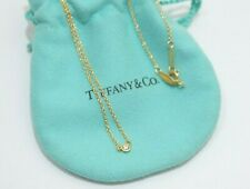 "Tiffany & Co. 18k Yellow Gold Peretti By The Yard Diamond Necklace 16"""
