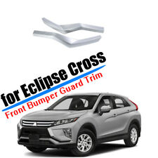 For Mitsubishi Eclipse Cross 2018-2020 Front Bumper Corner Cover Trim ABS Silver