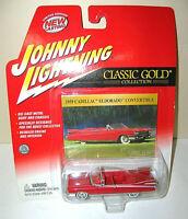 "Johnny Lightning ""CLASSIC GOLD"" 1959 CADILLAC ELDORADO Car Die Cast-1:64 - HOOD"