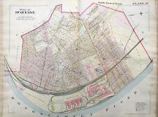 1900 DUQUESNE, PITTSBURGH, PA CARNEGIE LIBRARY & STEEL CO. COPY PLAT ATLAS MAP