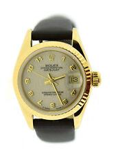 Rolex Datejust Anniversary Dial 18K Yellow Gold Watch 69178