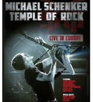 Michael Schenker - Temple of Rock: Live in Europe [New Blu-ray]