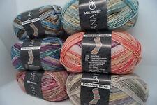 Lana Grossa Meilenweit 50 Cashmere Trend 4fach Sockenwolle  50g/210m