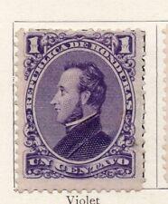Honduras 1878 Early Issue Fine Mint Hinged 1c. 098855
