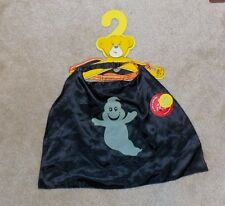 Build a Bear Workshop Halloween Glow in Dark Ghost Cape and Mask NWT