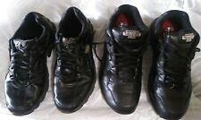 Men's Black Sketchers Work Relaxed Fit Shoes memory foam size 11.5