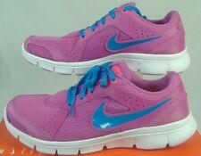 New Womens 11 NIKE Flex Experience RN 2 Pink Blue White Run Shoes $65 599548-601