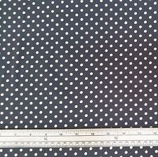 Stretch Jersey Knit Fabric - Metallic Spots - Grey - 94% Cotton 6% Elastane - HM