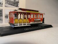 MODEL CABLE CAR SAN FRANCISCO TRAM CAR POWELL AND MASON SCALE MODEL USA TRAMS