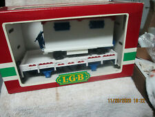 Lgb # 4037 Car And Trailer In Box