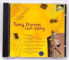 Tony Darren Sun Song Music CD 83426 11 Tracks FREE SHIPPING