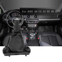 5 Speed Gear Shift Knob Gear Stick Gaiter Boot Kit for AUDI A6 C5 A4 B5 A8 L1P7