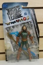 Justice League Aquaman Action Figure Misprint With Wonder Woman Card /Package
