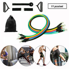 RESISTANCE BANDS MEN WORKOUT EXERCISE FITNESS TUBES YOGA CROSSFIT LOOP SETS