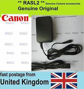 Genuine Original Canon Charger CA-110e Legria HF R36 R37 R38 R76 R77 R78 R706