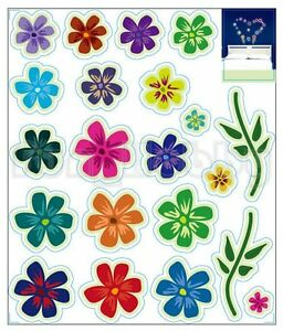 Glow Stickers Cute Flowers Glow In The Dark Stickers Cute Colorful Fowers