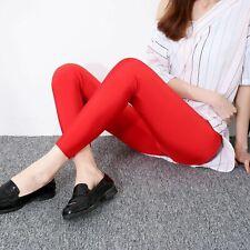 2019 New Fashion Sexy Women Summer Pencil Pants Female Leggings Slim Fit Butt