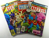 Marvel THE ETERNALS (1976) #18 VF #19 FN + ANNUAL #1 VF KIRBY LOT Ships FREE