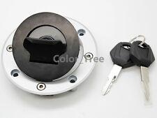Gas Fuel Tank Cap Cover 2 Keys for Suzuki VX800 1990-1996 RF600 1993-1998 RF400